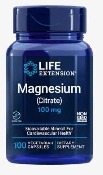 Magnesium Citrate 100 mg (100 caps)