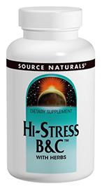Hi-Stress B&C w/Herbs (60 y 120 tabs)