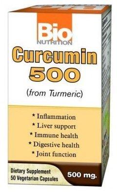 Curcumin 500 (50 veg. caps)
