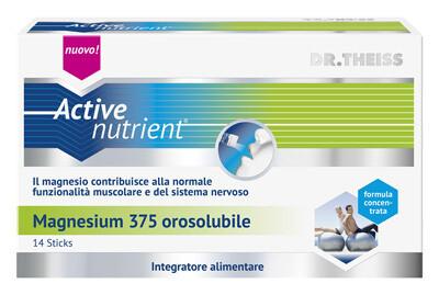 ACTIVE NUTRIENT MAGNESIUM 375 14 STICK OROSOLUBILI