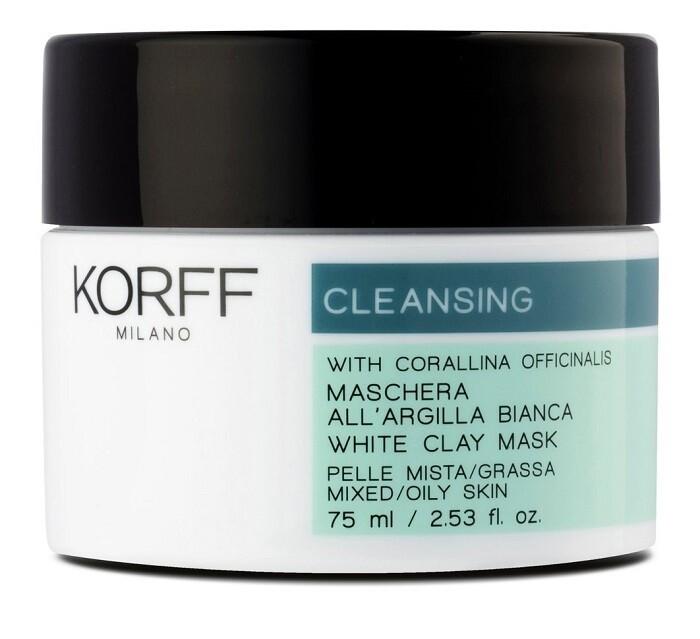 KORFF CLEANSING MASCHERA ARGILLA BIANCA 75 ML