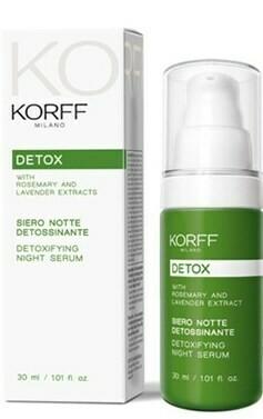 KORFF DETOX SIERO NOTTE DETOSSINANTE 30 ML