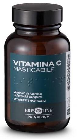 PRINCIPIUM VITAMINA C NATURALE 60 COMPRESSE MASTICABILI 72 G