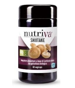 NUTRIVA SHITAKE 60 VEGICAPSULE