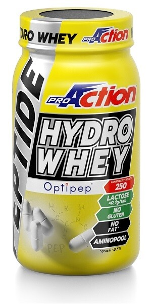 PROACTION PEPTIDE HYDRO WHEY 250 COMPRESSE