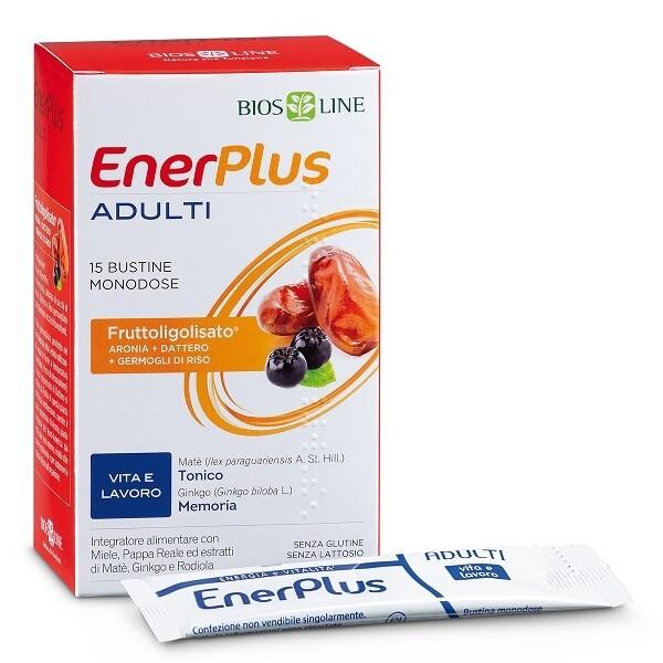 BIOSLINE ENER PLUS ADULTI 15 BUSTINE X 10 ML