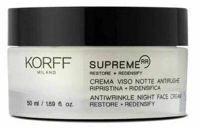 KORFF SUPREME CREMA NOTTE ANTIRUGHE 50 ML