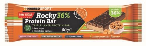 ROCKY 36% PROTEIN BAR SALTY PEANUTS BARRETTA 50 G