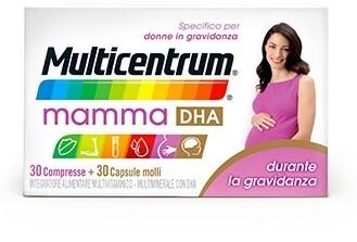 MULTICENTRUM MAMMA DHA 30 COMPRESSE + 30 CAPSULE