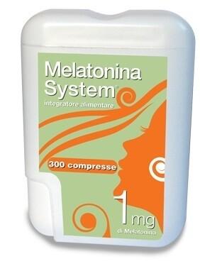 MELATONINA SYSTEM 300 COMPRESSE 1 MG