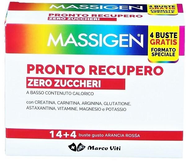PRONTO RECUPERO ZERO ZUCCHERO 14 BUSTINE + 4 BUSTINE