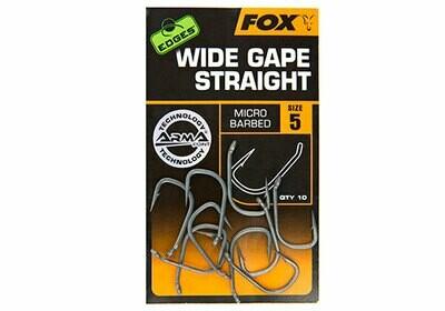 Wide gape straight