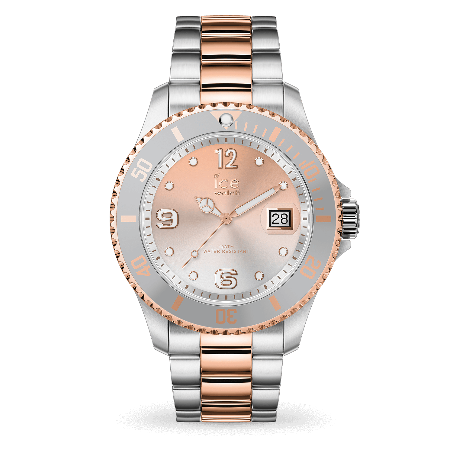 ICE steel - Silver sunset rose-gold