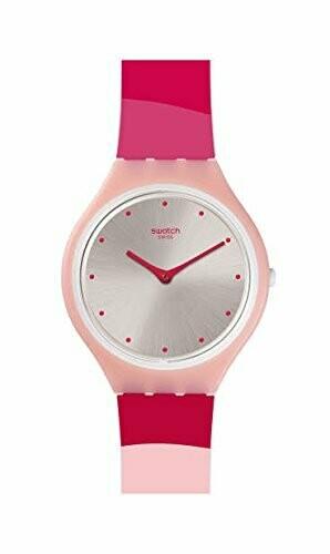 Pink Silicone Swiss Quartz Fashion