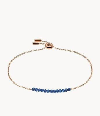 Bracelet de perles en lapis