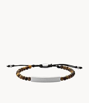 Bracelet de perles en œil-de-tigre