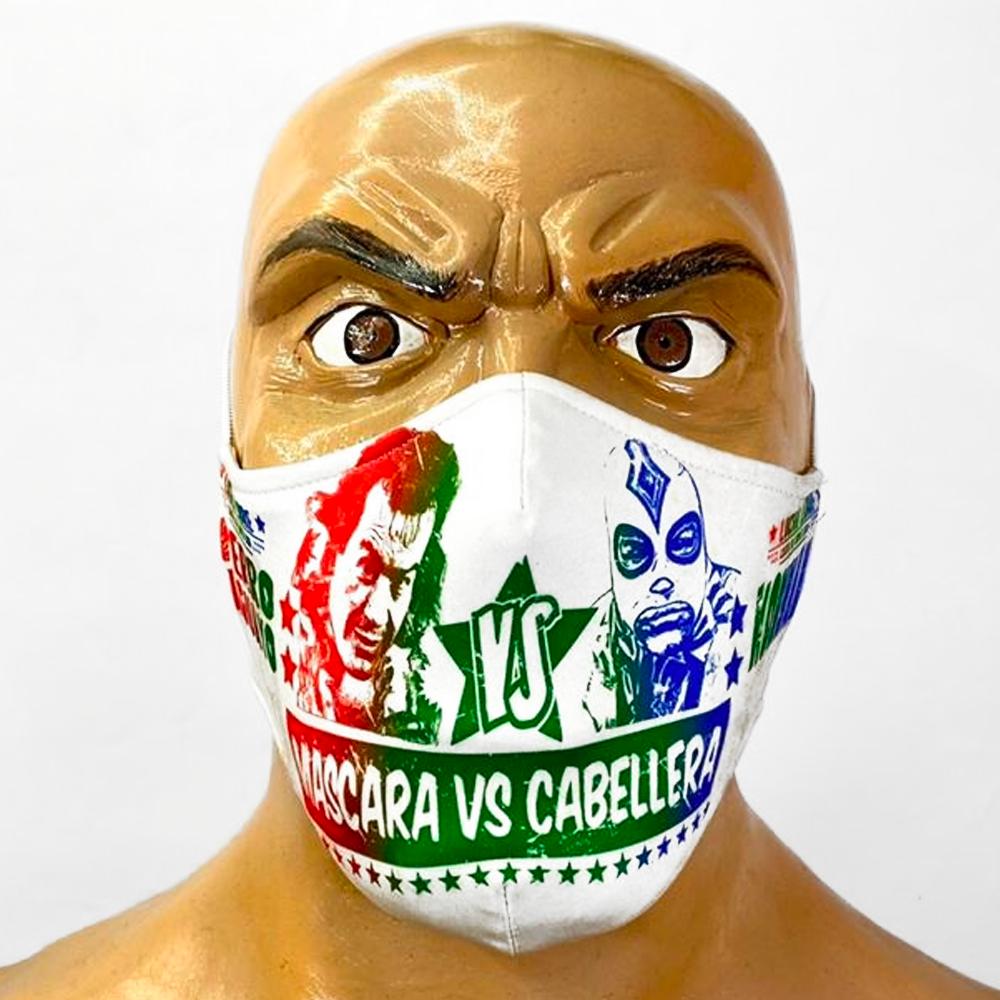 Perro Aguayo vs Konnan (Mascara vs Cabellera)