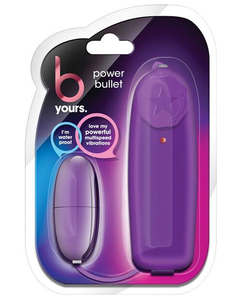 B Yours Power Bullet Purple