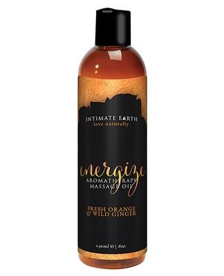Aromatherapy Massage Oil Orange Ginger