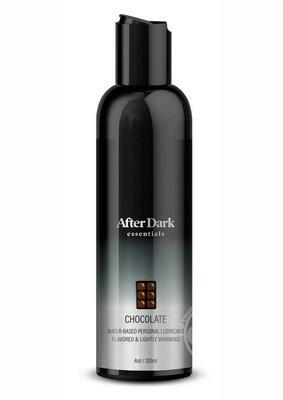 After Dark Essentials Chocolate Flavored Warming Lubricant 4 OZ