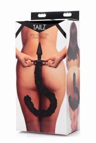 Tailz Bad Kitty Silicone Cat Tail Anal Plug