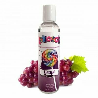 Lollicock Water Based Flavored Lubricant Grape