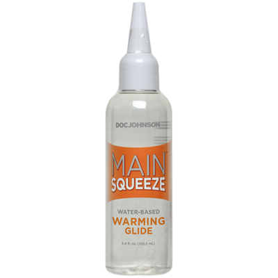 Main Squeeze Warming Water-Based Lubricant 3.4 oz