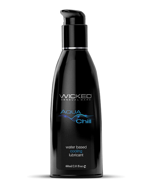 Wicked Aqua Chill Water Based Lubricant