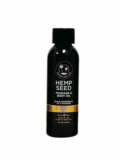 HEMP SEED MASSAGE OIL DREAMSICLE