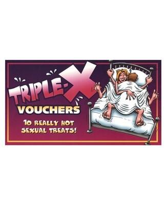 TRIPLE X VOUCHERS