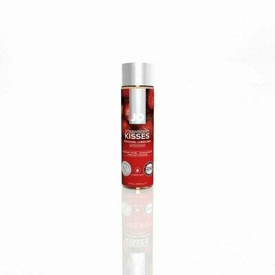 JO H2O Flavored Lubricant Strawberry Kisses 4 OZ