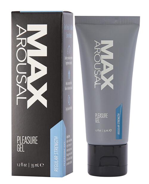 Max Arousal Pleasure Gel Regular Strength