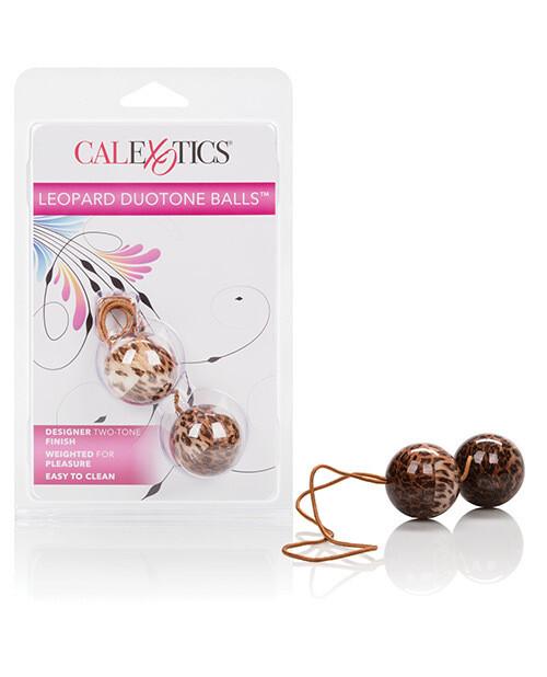 Leopard Duotone Kegel Balls