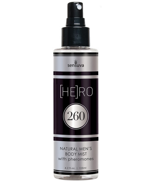 Sensuva Hero 260 Pheromone Male Body Mist - 4.2 oz
