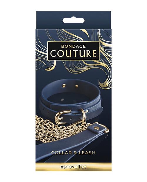 Bondage Couture Collar & Leash