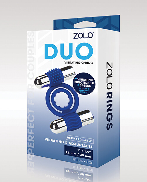 ZOLO Duo Rechargeable Vibrating Ring