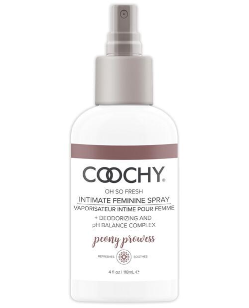 Coochy Intimate Feminine Spray Peony Prowess 4 OZ