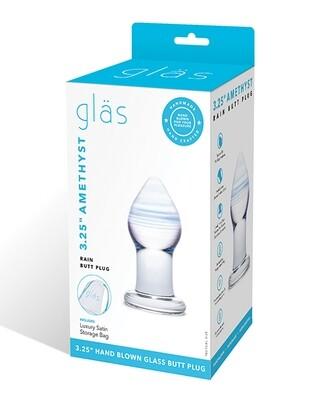 Glas Amethyst Plug