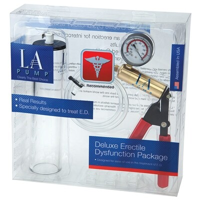 L.A. Pump Deluxe Erectile Dysfunction Package 2 X 9
