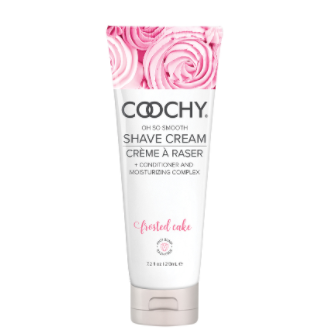 Coochy Shave Cream Frosted Cake