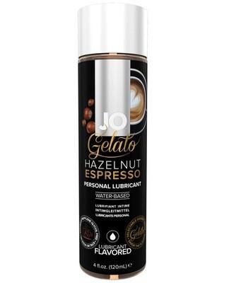JO Gelato Flavored Lubricant Hazelnut Espresso 4 OZ