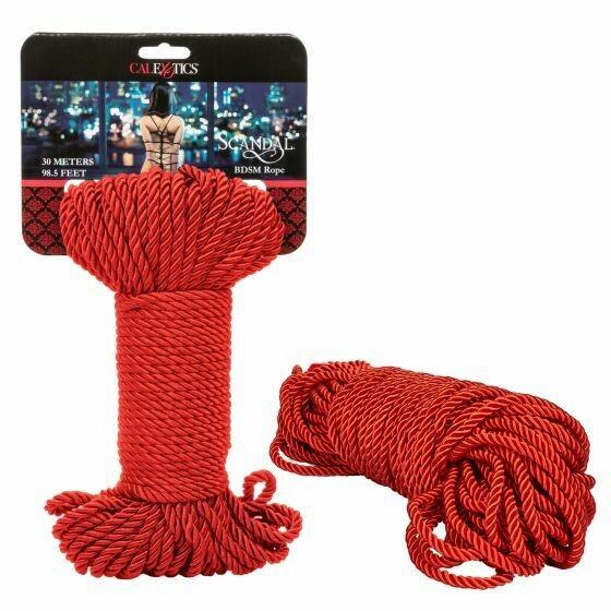 Scandal BDSM Rope 98.5 Red
