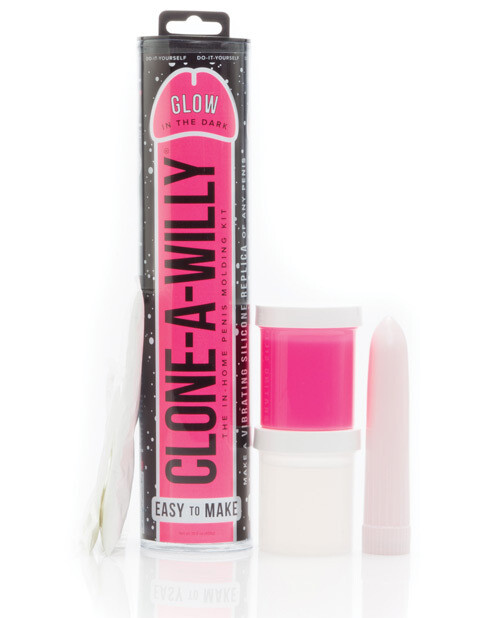 Clone a Willy Kit Glow in the Dark Pink