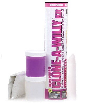 Clone A Willy Kit Neon Purple