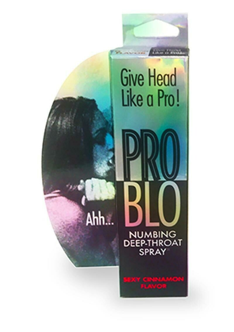 Pro Blo Numbing Deep Throat Spray Cinnamon