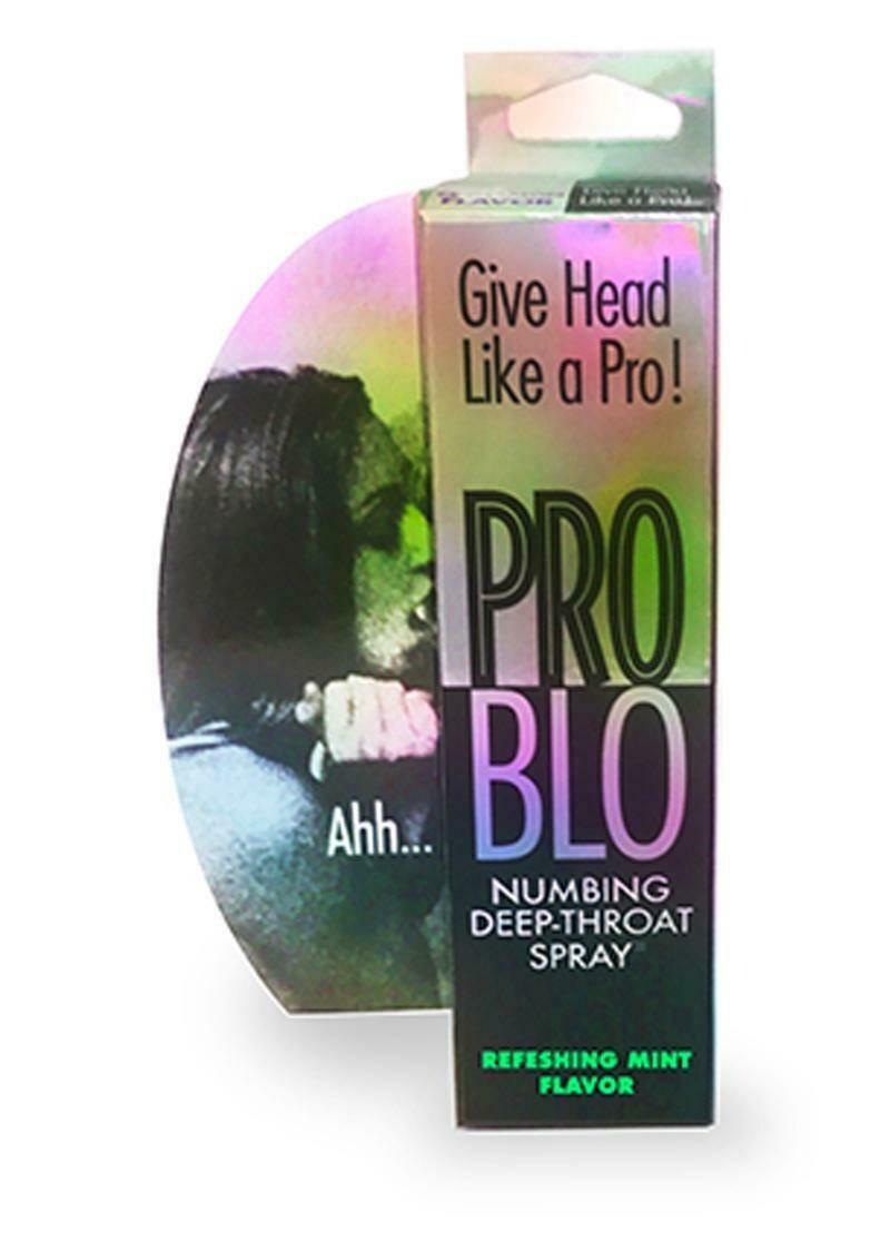 Pro Blo Numbing Deep Throat Spray Mint