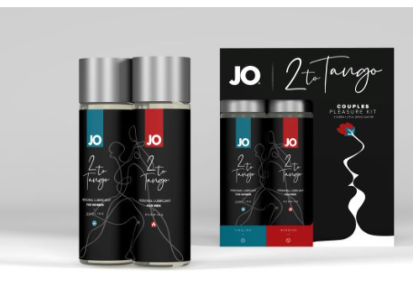 JO 2 To Tango Couples Pleasure Kit