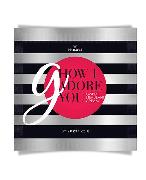 G How I Adore You G Spot Cream Packet