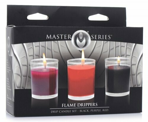 Master Series Flame Drippers Drip Candle Set