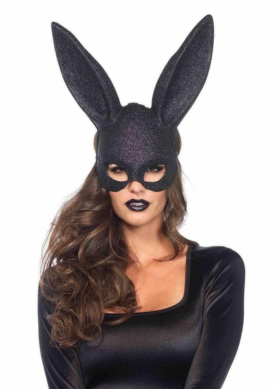 Glitter masquerade rabbit mask